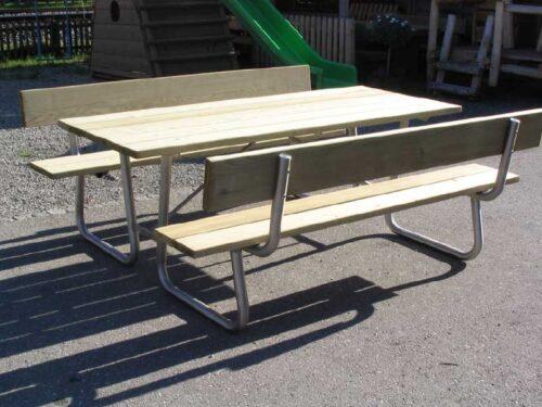 picknicktisch modell stans spielplatzger te baumberger. Black Bedroom Furniture Sets. Home Design Ideas