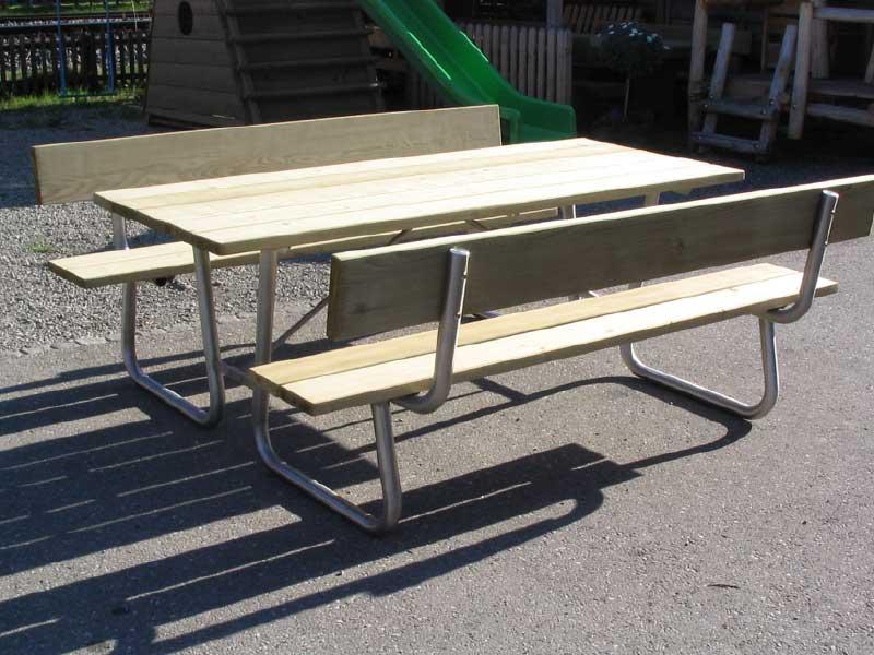 Picknicktisch Spiez Spielplatzger 228 Te Baumberger