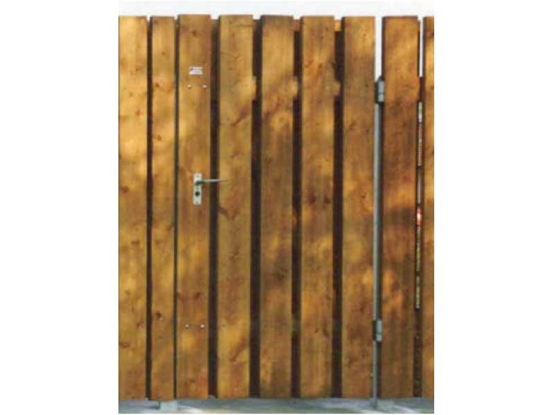 Sichtschutz-Türe